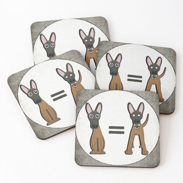 Do Not Pet Coasters (Set of 4)