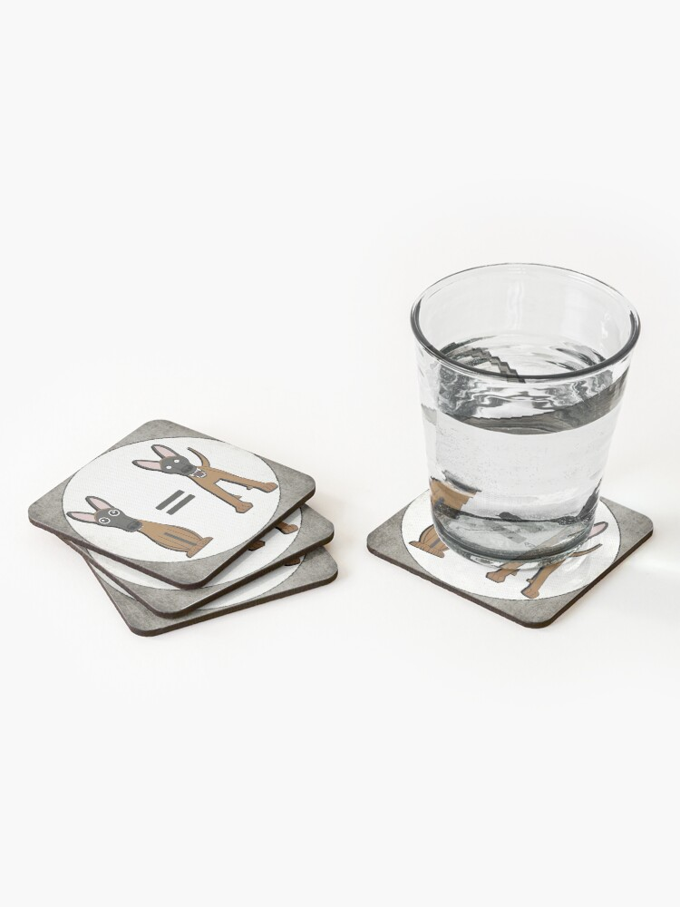 Alternate view of Do Not Pet Coasters (Set of 4)