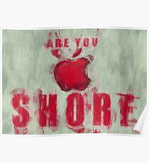 Apple Mac Shore Poster