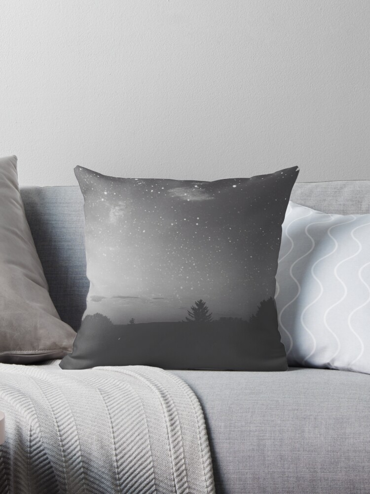 Maybe Were From The Same Star Throw Pillows By Christinevanfon