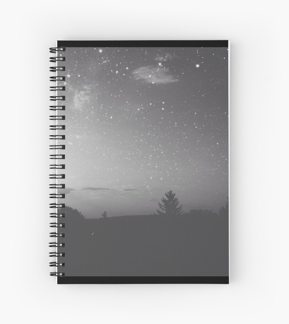 Maybe Were From The Same Star Spiral Notebooks By Christinevanfon