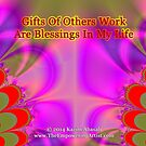 Gifts Of Others Work by empowerwithart