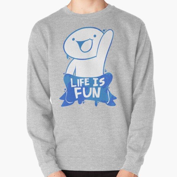 TheOdd1sOut Life is Fun Graffiti Pullover Sweatshirt