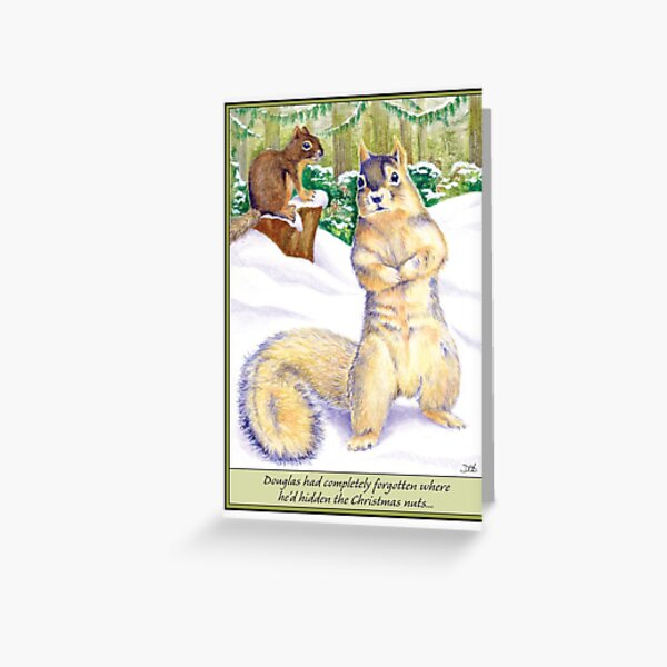 Going Nuts Greeting Card