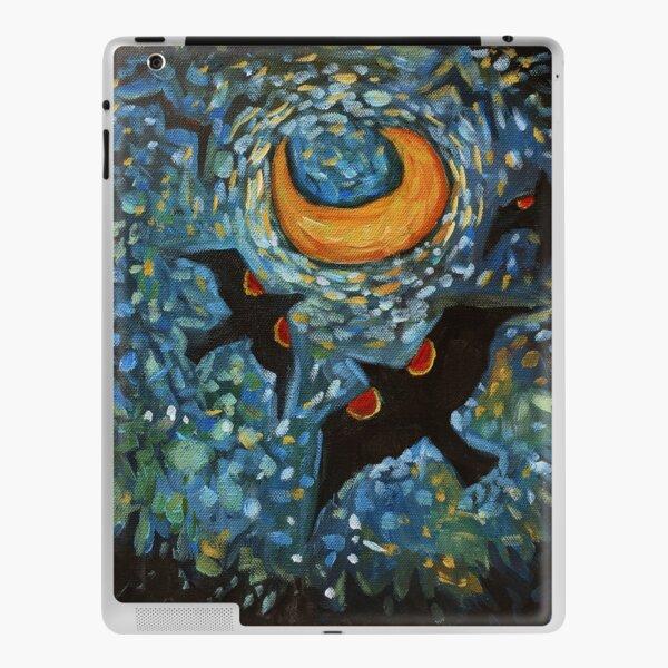 Redwing Moon iPad Skin