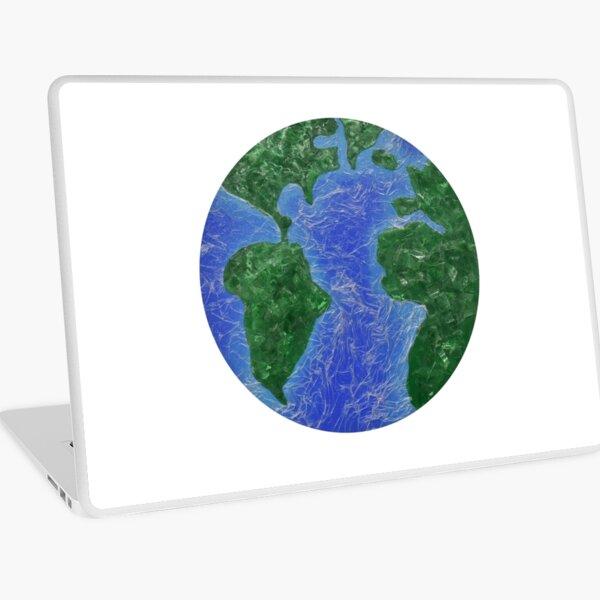 Modern Globe Laptop Skin