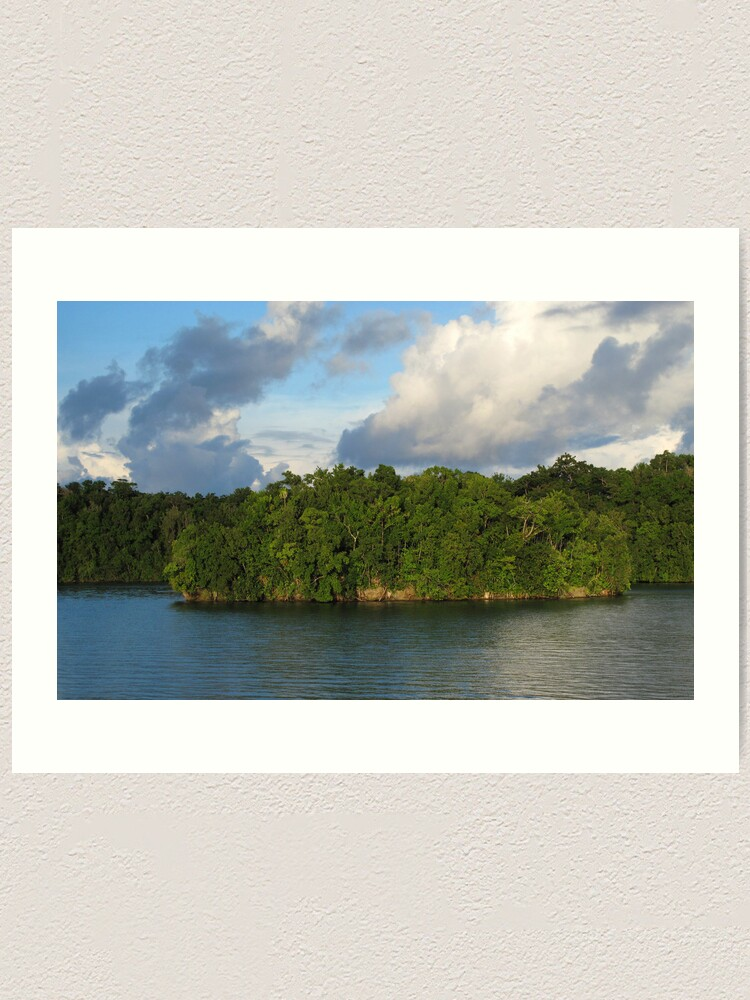 Alternate view of Islet at Marovo Lagoon Art Print