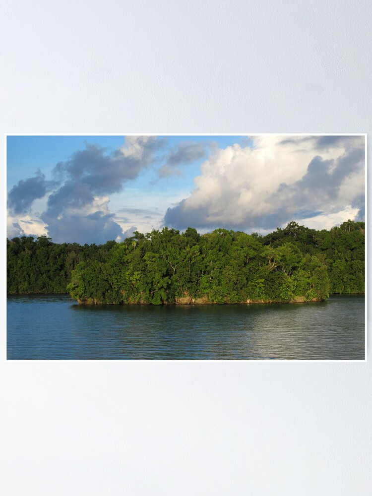 Alternate view of Islet at Marovo Lagoon Poster