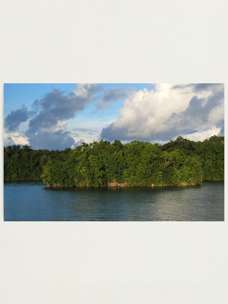 Alternate view of Islet at Marovo Lagoon Photographic Print