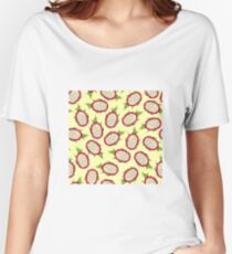 Dragon fruit on light background Relaxed Fit T-Shirt