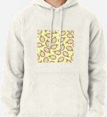 Dragon fruit on light background Pullover Hoodie