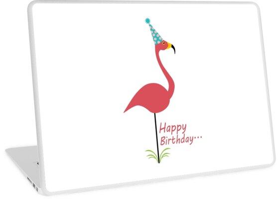 06394dc616e5 Pink lawn flamingo happy birthday to classy person geek funny nerd by jekonu