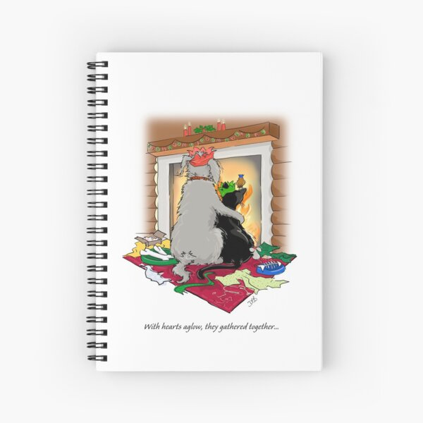 Peace on Hearth Spiral Notebook