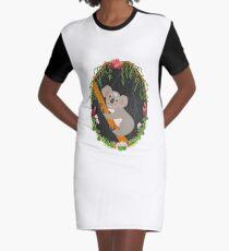 Koala Graphic T-Shirt Dress
