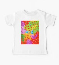 Abstract Watercolor Painting Baby Tee