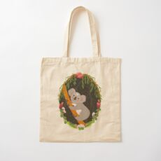 Koala Cotton Tote Bag