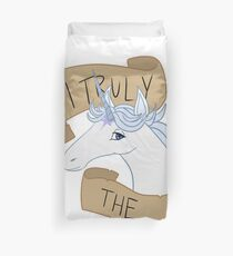 Am I Truly the Last? Duvet Cover