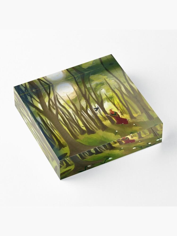 Alternate view of Timeless  Acrylic Block