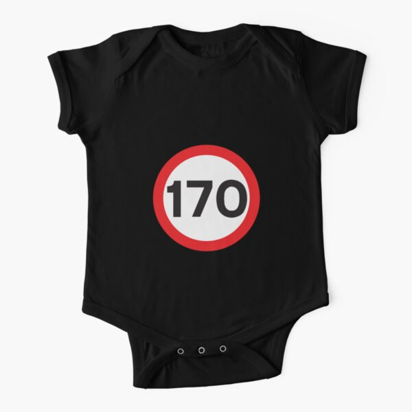 170 Max Speed Short Sleeve Baby One-Piece