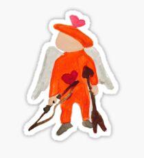 Toddies February St. Valentine's Day Sweetheart Toddler Sticker