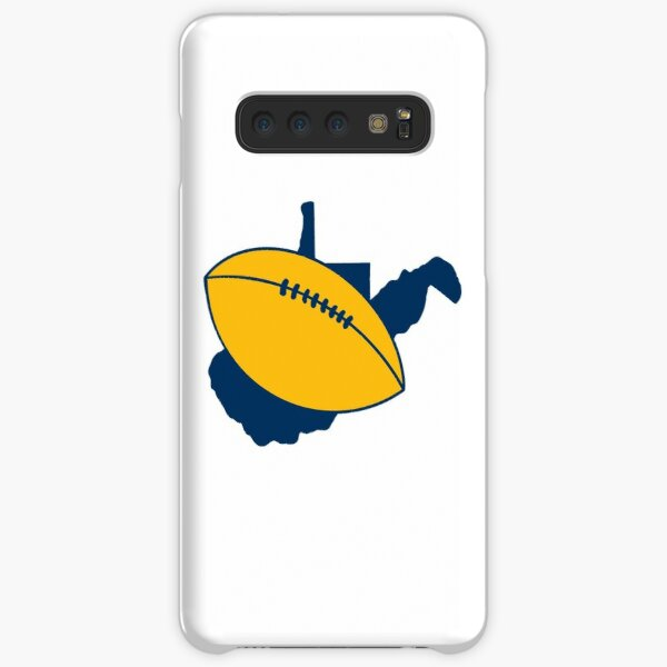 West Virginia Gold Football on State Samsung Galaxy Snap Case