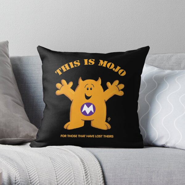 Have you lost your mojo? Throw Pillow