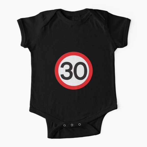 30 Max Speed Short Sleeve Baby One-Piece