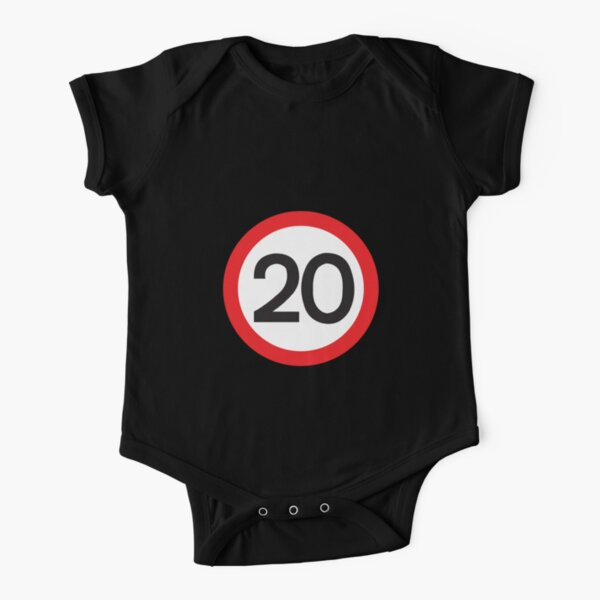 20 Max Speed Short Sleeve Baby One-Piece
