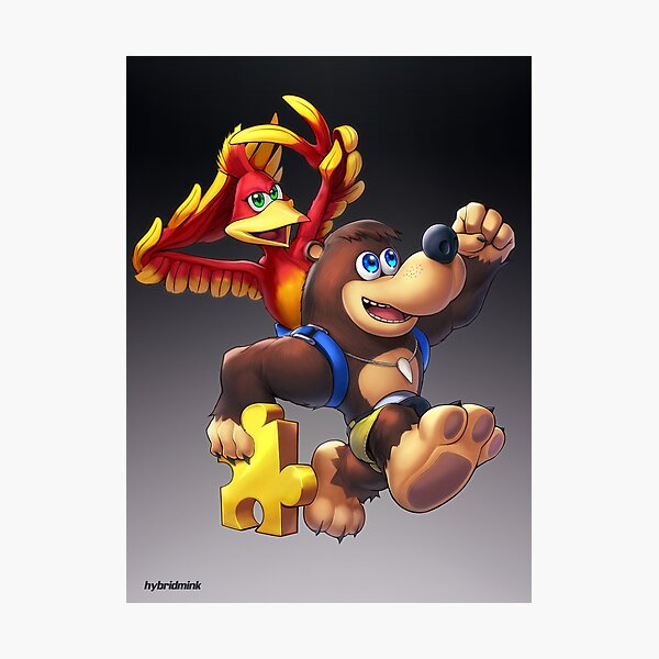 Banjo & Kazooie (Ultimate) Photographic Print
