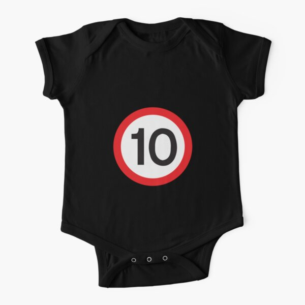 10 Max Speed Short Sleeve Baby One-Piece