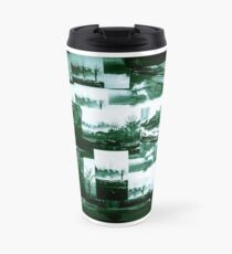 Industrial Green Collage 18 Travel Mug