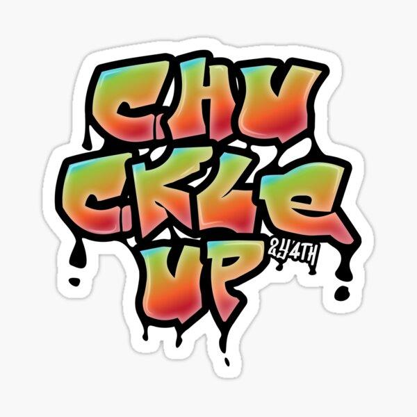 Chuckle Up Graffiti Sticker