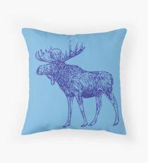 Kansas City Royals Moose Throw Pillow