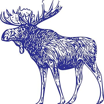 Kansas City Royals Moose by Midwestern