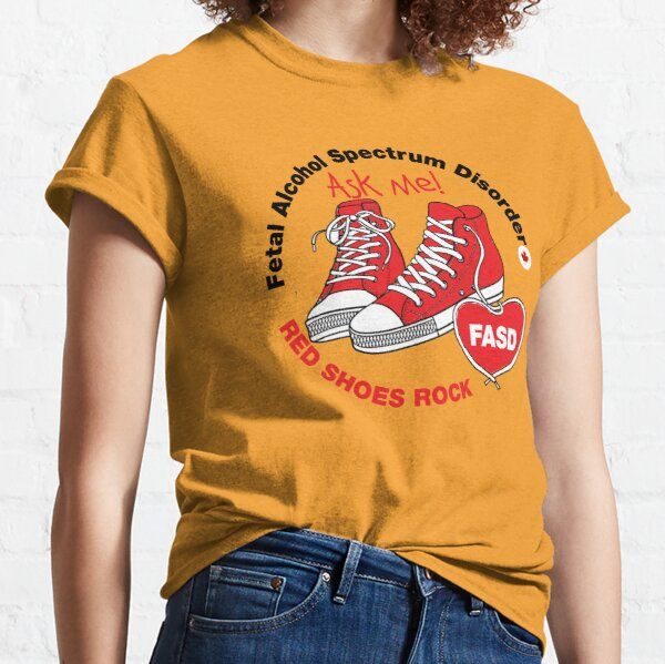 Red Shoes Rock. Ask Me Classic T-Shirt