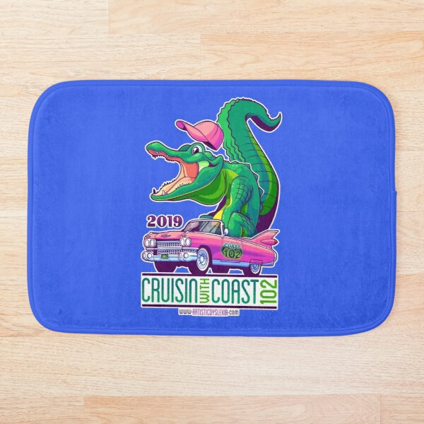 Cruisin' With Coast 102 - 2019 Bath Mat