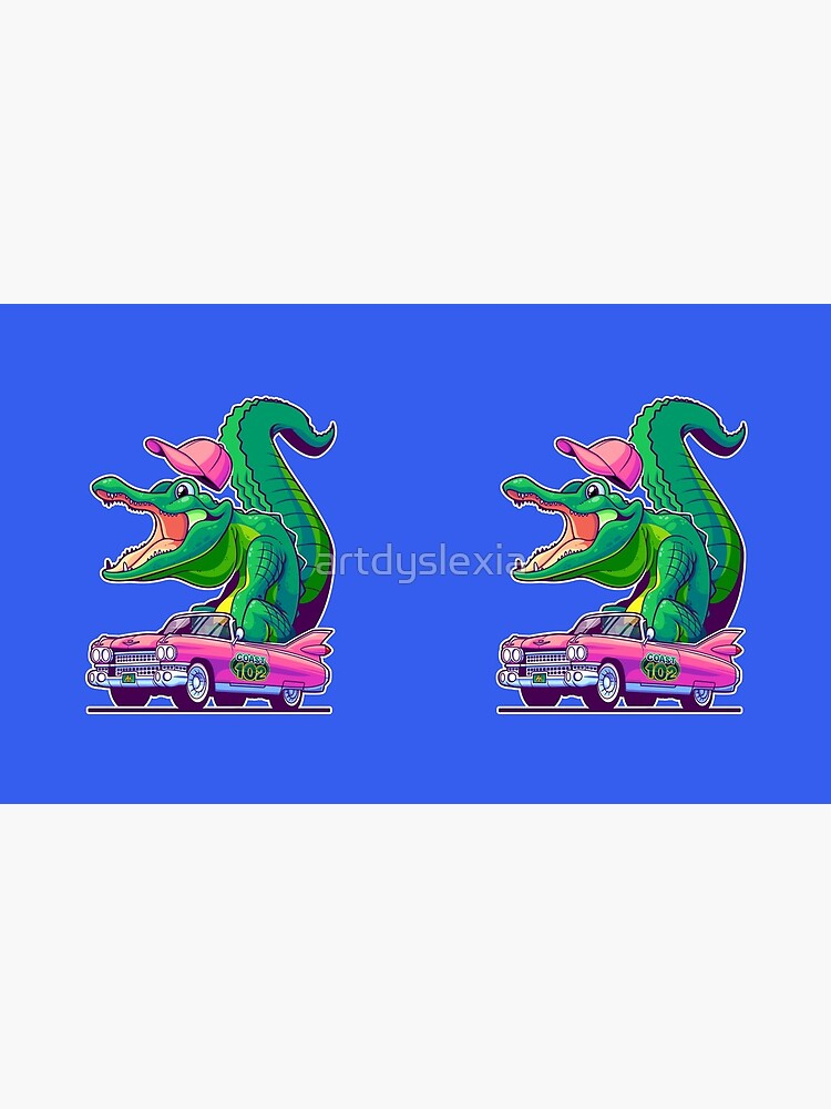 Caddy Gator by artdyslexia