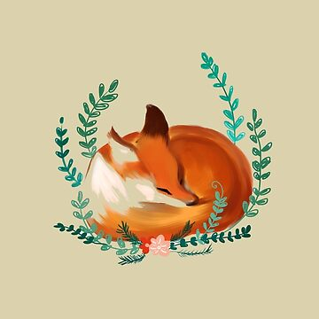 Sleeping Fox de KaylaPhan