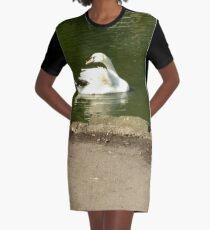 Merch #44 -- Swan - Shot 2 Graphic T-Shirt Dress