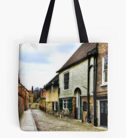 Down the Lane Tote Bag