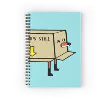 Fox Stuck in a Box Spiral Notebook