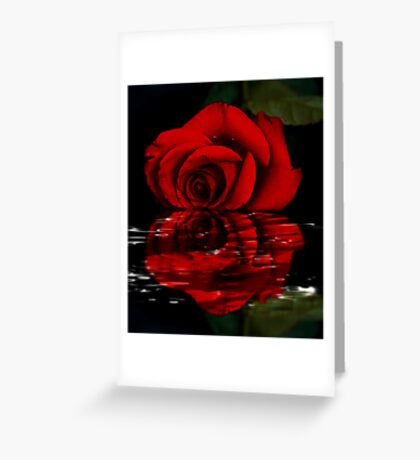 I Can See You in My Reflection Greeting Card