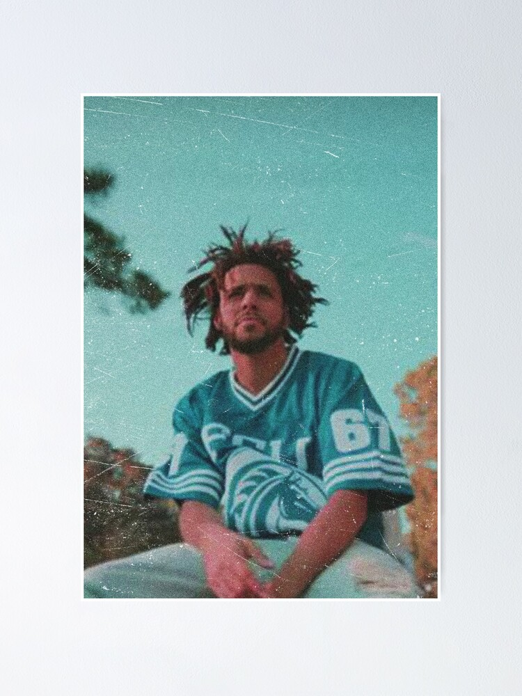 Alternate view of J. Cole (No Border/No Writing) Poster