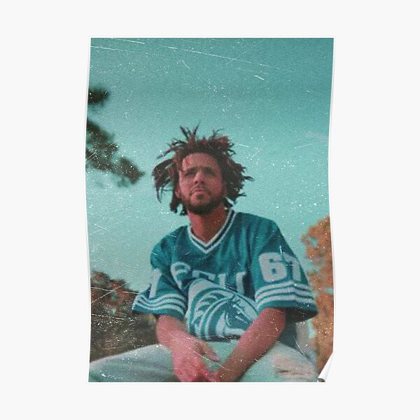 J. Cole (No Border/No Writing) Poster