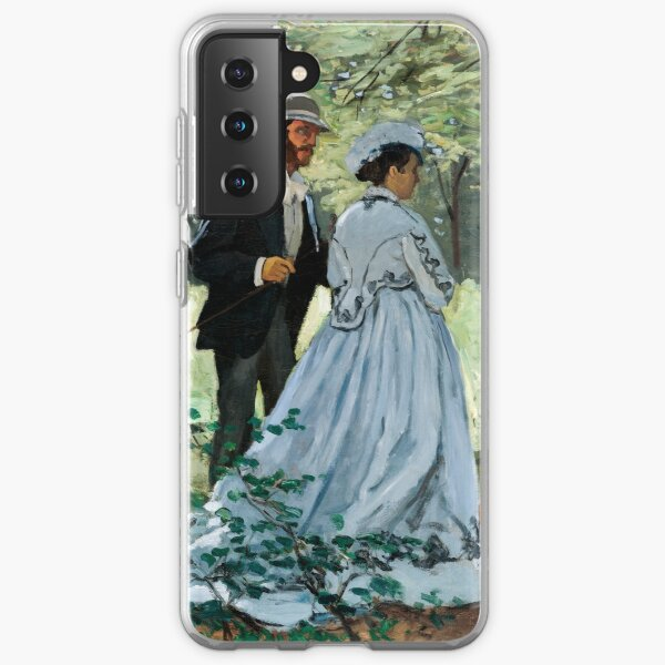 Claude Monet - Bazille and Camille Samsung Galaxy Soft Case