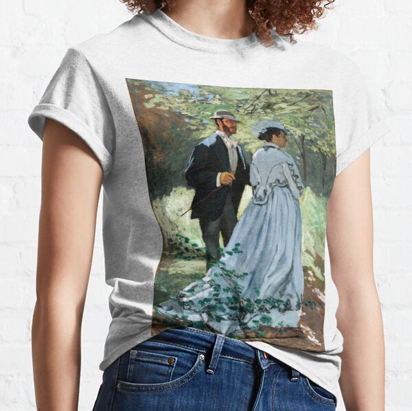 Claude Monet - Bazille and Camille Classic T-Shirt