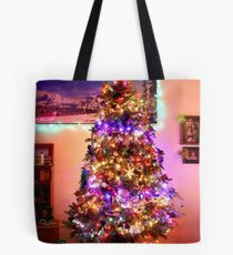 Our first Christmas Tree Tote Bag