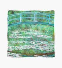 Claude Monet - The Japanese Footbridge Scarf