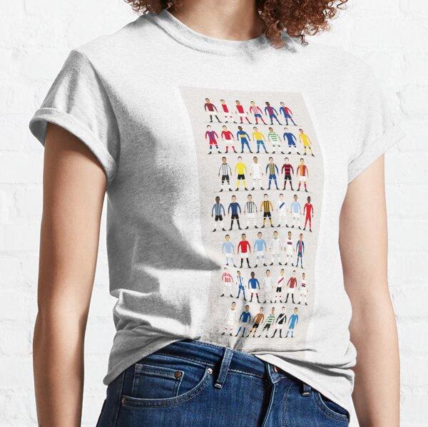 Football Kits of the World Classic T-Shirt
