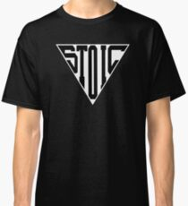 Stoic Triangle - Black Letters Classic T-Shirt